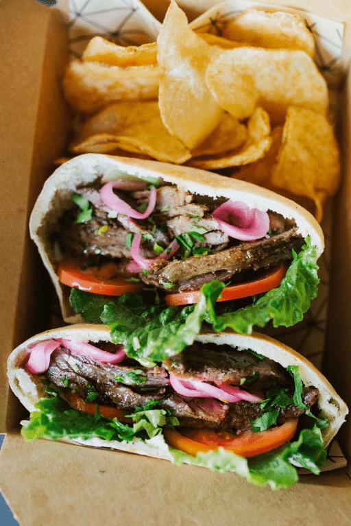 Steak Shawarma Pita